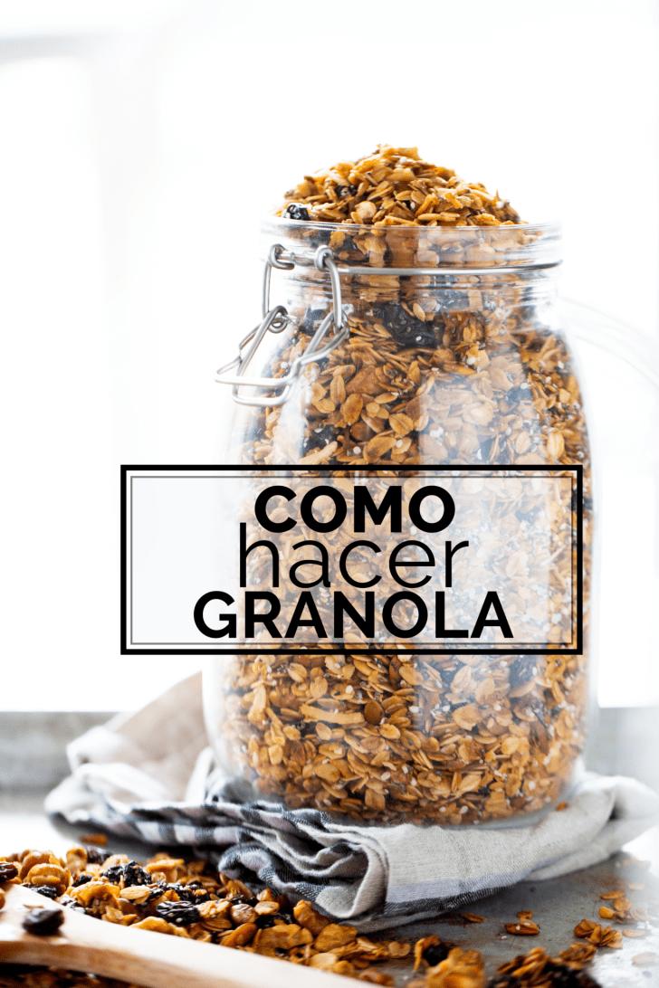 granola hecha en casa