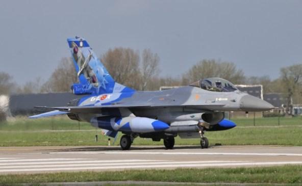 Belgische F-16AM bekent kleur,