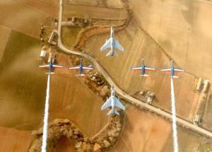F100 et la Patrouille de France