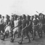 1940 1941 séance de culture physique en Tunisie