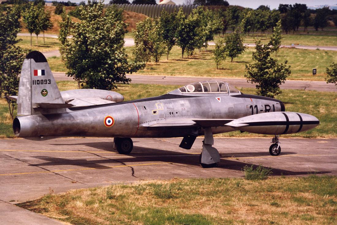F 84 RI à Luxeuil