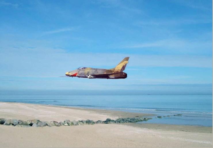 F-100D Gueule de Requin