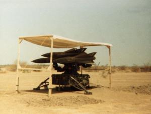 missile à l'ombre