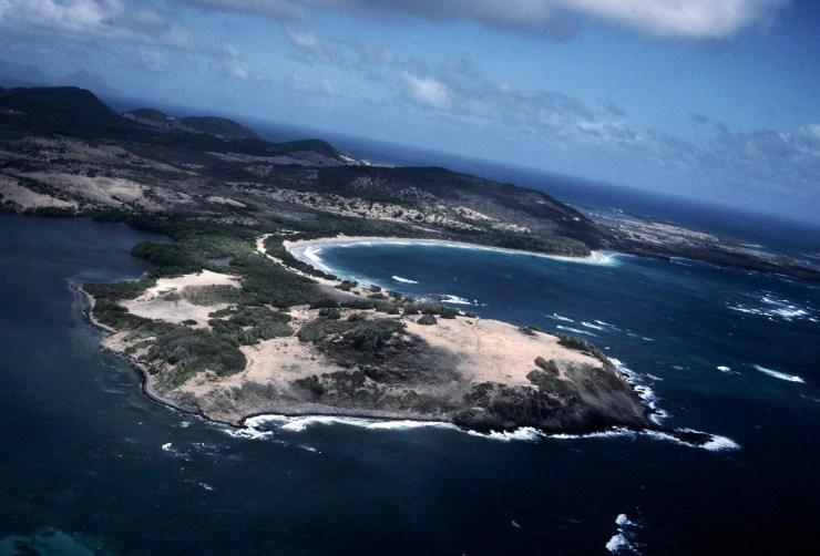 L'itinéraire sud passe par Martinique