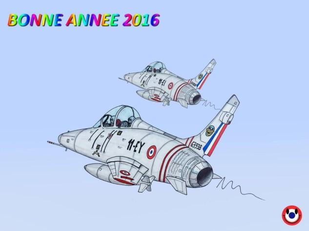 Dessin F100 bonne année