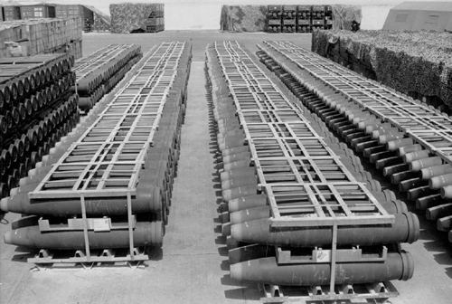 Stock de bombes