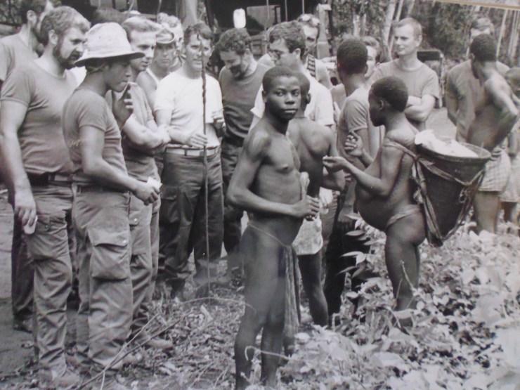 Visite chez les pygmées