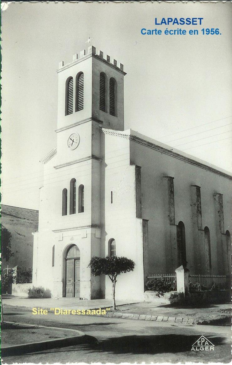 Le clocher de Lapasset