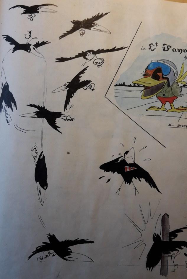 Et les aventures du Corbeau commencent
