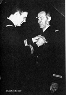 Remise du premier insigne du GERMAC