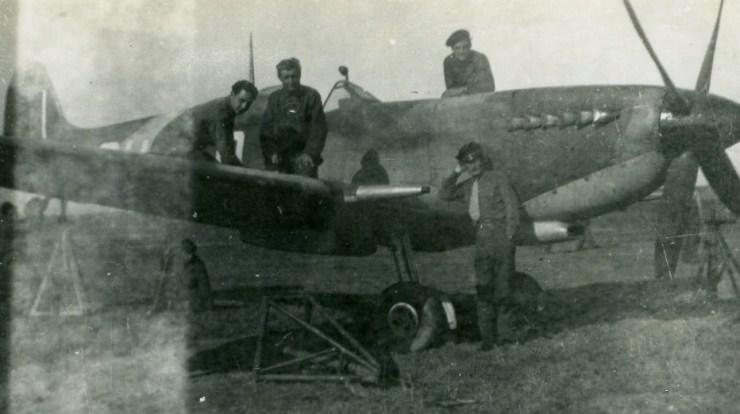 Travail mécanicien à Borgio Bastia 1943