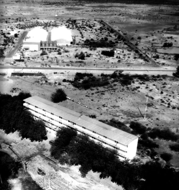 "Le ""Sofitel"" de la base de N'Djamena"