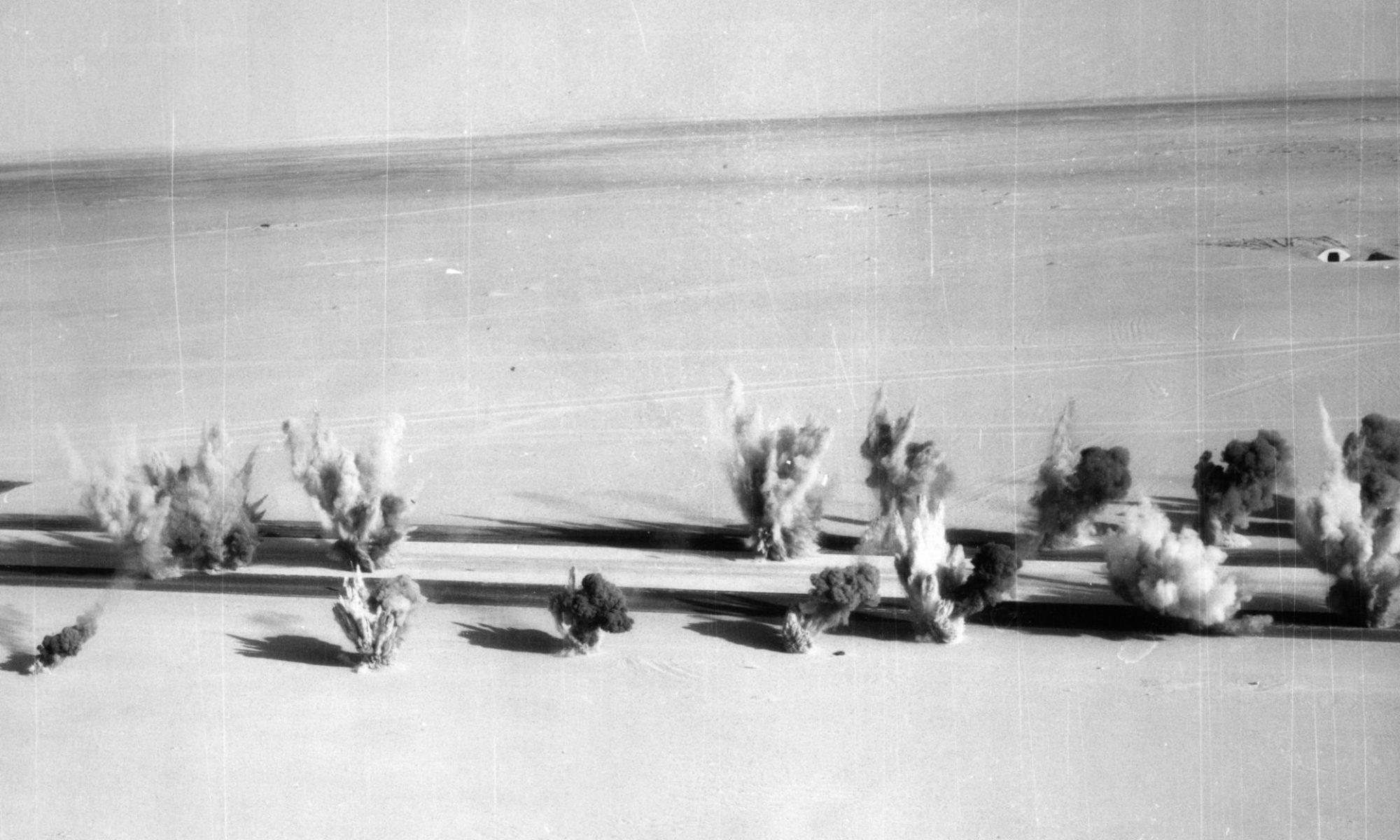 Les bombes dans la piste de Ouadi-Doum