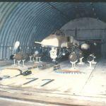 JAG A139 Armement sous hangarette