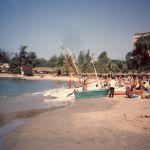 La plage du Méridien