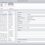 Interface du programme Base article commune