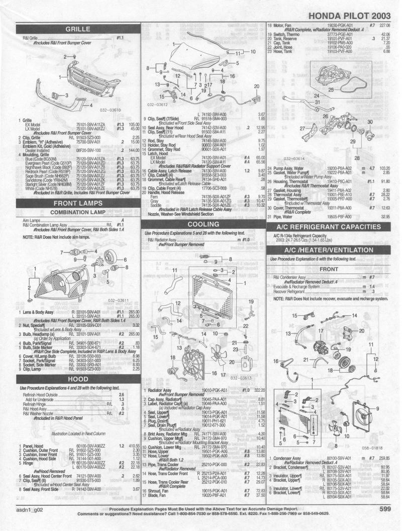 medium resolution of 2004 honda pilot parts diagram wiring diagram dat 2003 honda pilot parts list honda pilot honda