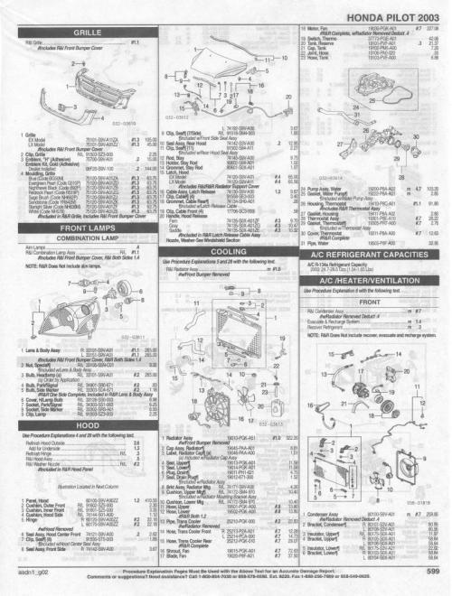 small resolution of 2004 honda pilot parts diagram wiring diagram dat 2003 honda pilot parts list honda pilot honda