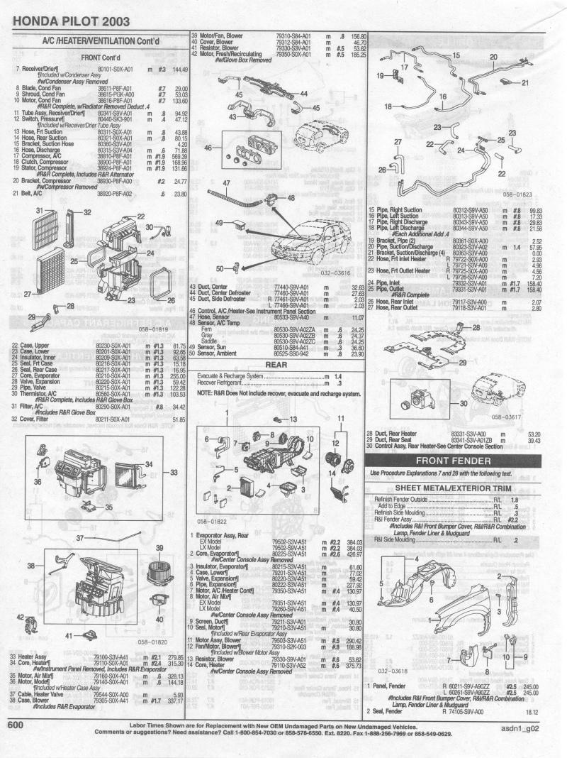 hight resolution of 2004 honda pilot parts diagram wiring diagram dat 2004 honda pilot parts diagram 2004 honda pilot
