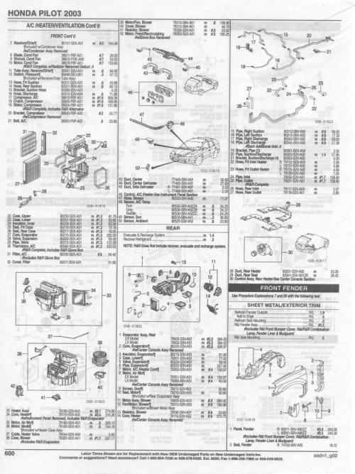 small resolution of 2004 honda pilot parts diagram wiring diagram dat 2004 honda pilot parts diagram 2004 honda pilot