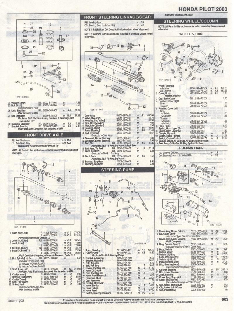 medium resolution of 2004 honda pilot parts diagram