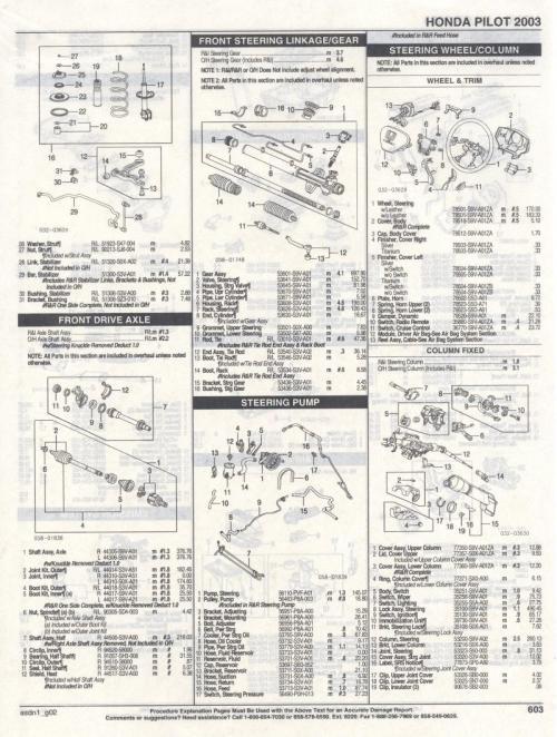 small resolution of 2004 honda pilot parts diagram
