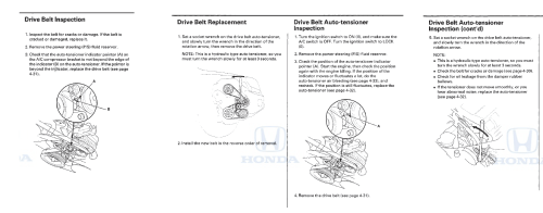 small resolution of drive serpentine belt replacement is a beast honda pilot honda belt replacement as well 2006 honda pilot serpentine belt diagram
