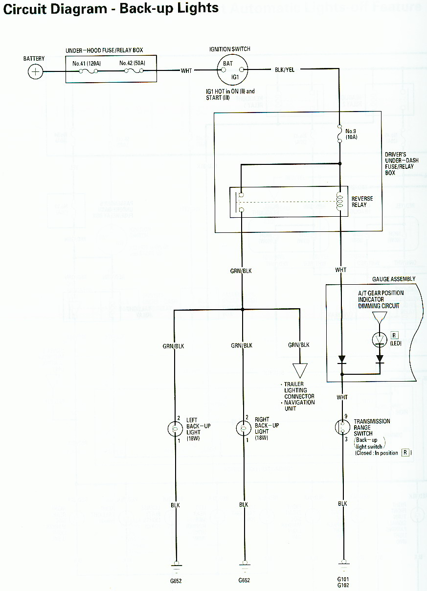 hight resolution of 2001 honda accord wiring diagram backup wiring diagramsreverse wiring harness colors wiring diagram third level 2001