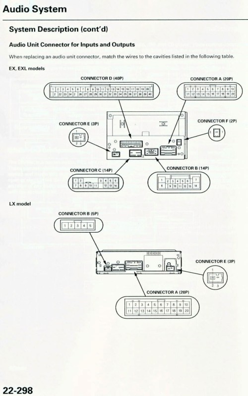 small resolution of honda pilot radio wiring harness wiring diagram megahonda radio wiring harness wiring diagram mega 2005 honda