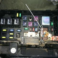 1993 Honda Civic Fuse Diagram Data Flow For Banking System Box Wiring All Melted Connector In Main Pilot Forums 93