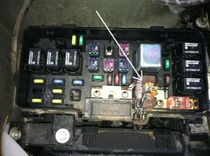melted connector in main fuse box  Honda Pilot  Honda Pilot Forums