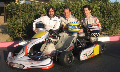 Sebastien, Fréderic & Sandrine prêts pour une nouvelle saison ...