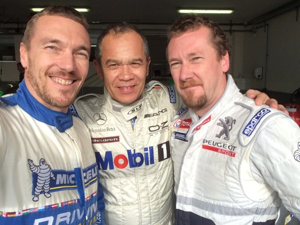 Stéphane, Hervé, David