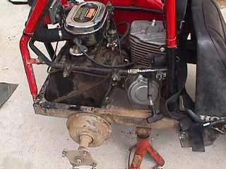 Goki Electric Start Kit FL250 Honda Odyssey 197784
