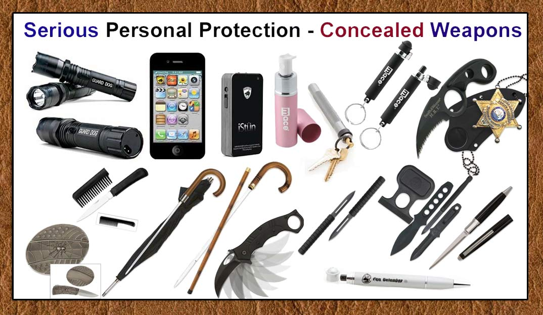 Concealed Weapons Products from SpyTeK- www.pimall.com/nais