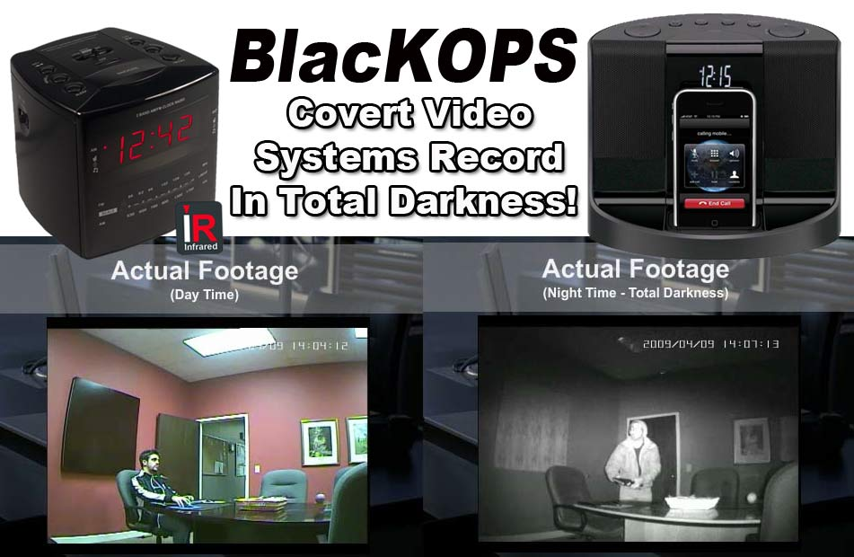 BlacKOPS Covert Video Camera Systems