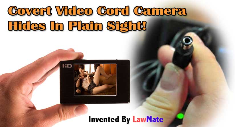 Lawmate Covert Video CordCam