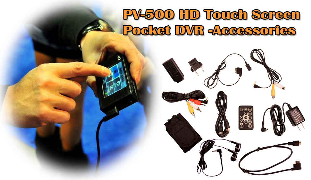 PV500 Touch Screen Accessories