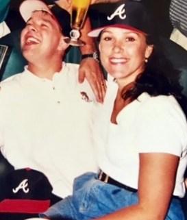 Sassy and Brian Henry at Atlanta Braves Tailgate