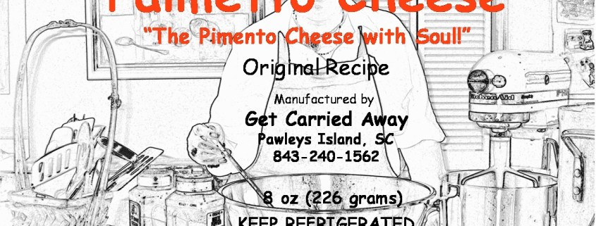 First Palmetto Cheese Label