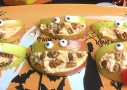 Palmetto Cheese Apple Monsters