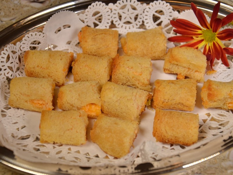 Palmetto Cheese Puffs