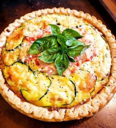 Summer's Bounty Palmetto Quiche