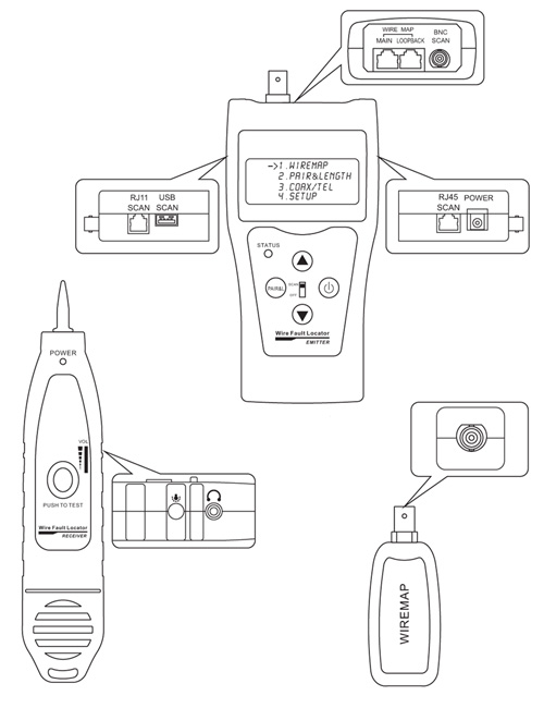 Usb Coaxial Wiring Diagram