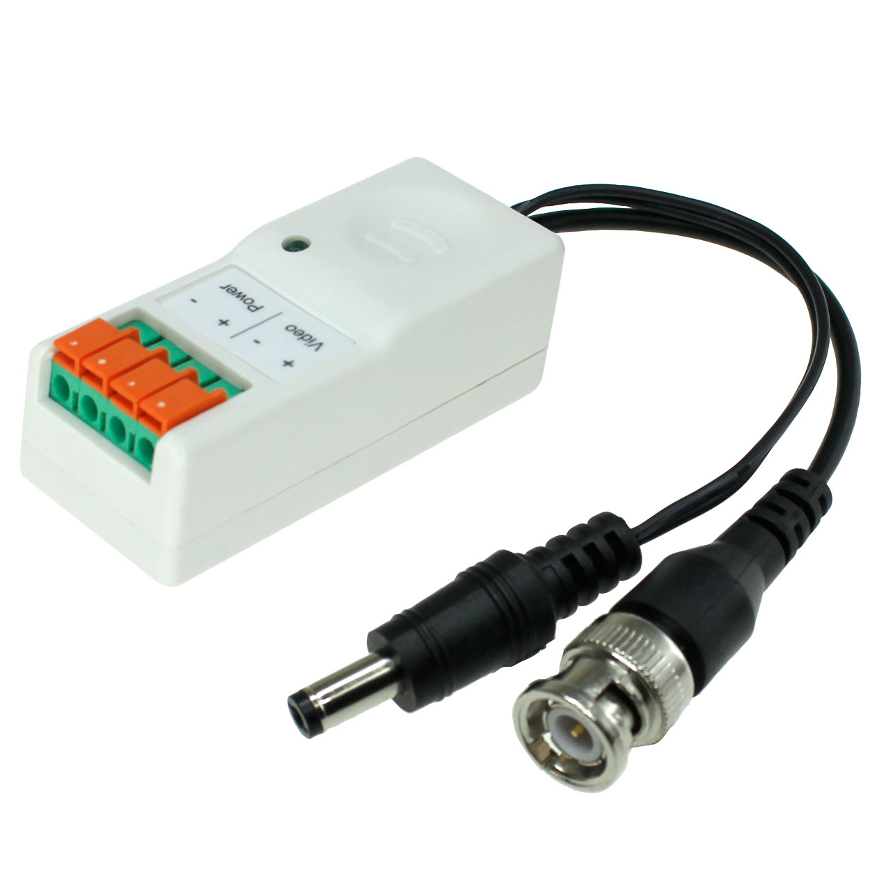 hight resolution of hd active video balun terminal type for hd tvi hdcvi ahd cvbs cameras power converted camera side pi manufacturing