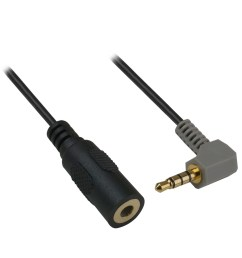 6 inch 3 5mm trs female to 3 5mm trrs male adapter cable pi manufacturing [ 1250 x 1250 Pixel ]
