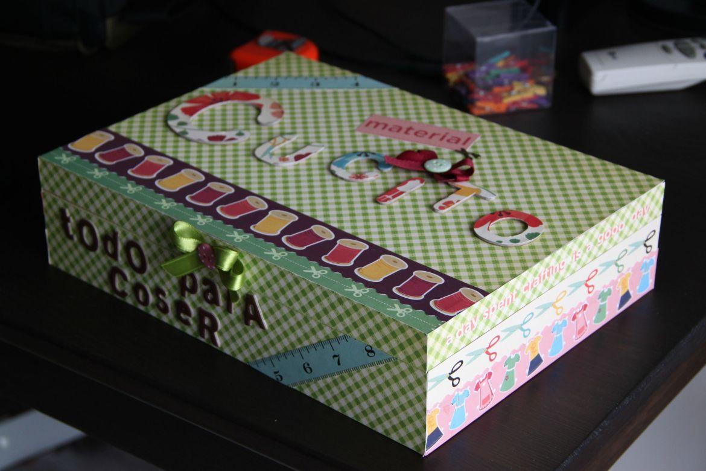 Caja de costura | Pimienta y Purpurina