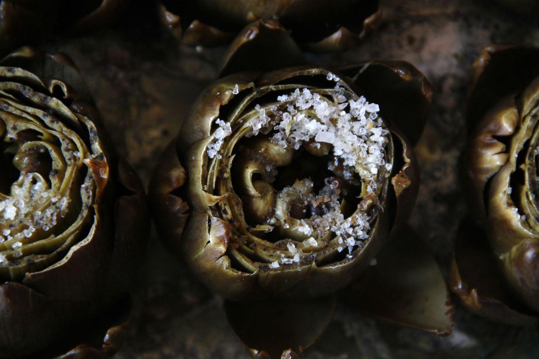 Alcachofas al horno | Pimienta y Purpurina