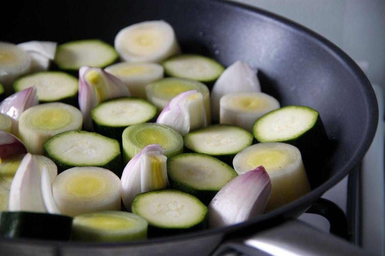 Tarte tatin de verduras | Pimienta y Purpurina