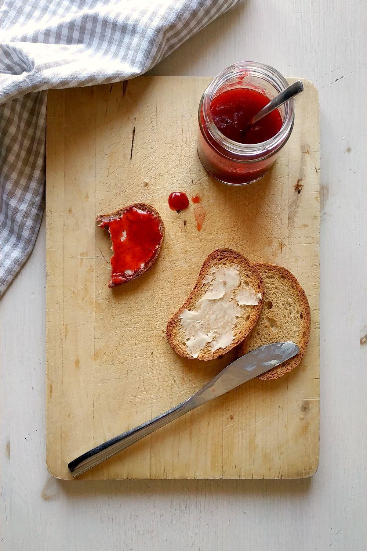 Confitura de fresas (o fresones) | Pimienta y Purpurina